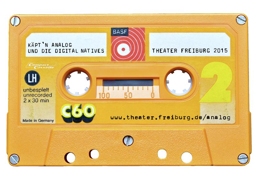 »Käpt'n Analog und die Digital Natives« – ab 18.1.15 im Werkraum des Theater Freiburg (Foto: M. Kaiser)