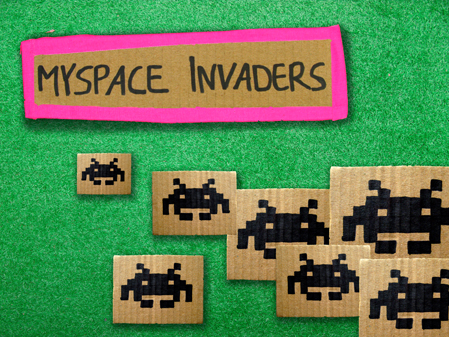 »Myspace Invaders«