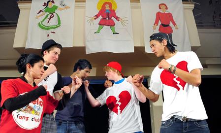 Schultheatertage 2011: »struwwel-peter.next level« (Foto: T. Kunz)