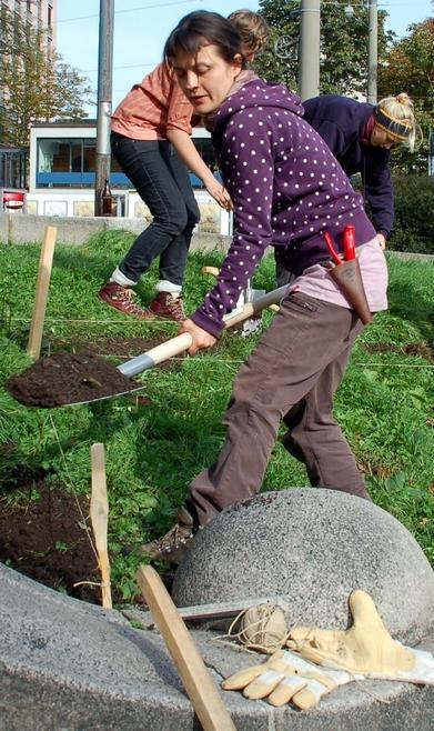 urban gardening theatervorplatz junges theater freiburg blog. Black Bedroom Furniture Sets. Home Design Ideas